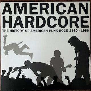 VARIOUS American Hardcore: The History Of American Punk Rock 1980-1986 (Rhino - USA original) (EX) LP