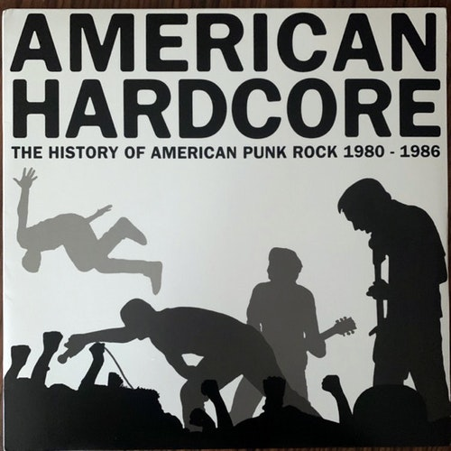 VARIOUS American Hardcore: The History Of American Punk Rock 1980-1986 (Rhino - USA original) (EX) LP