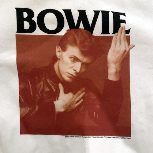 DAVID BOWIE Bowie (XS) (USED) SWEATSHIRT