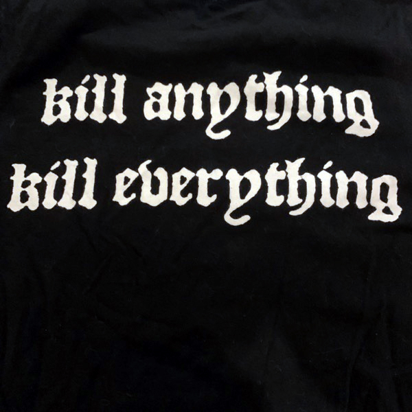 CRAFT Kill Anything Kill Everything (S) (USED) T-SHIRT