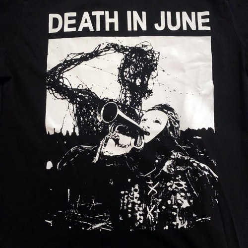 DEATH IN JUNE Tel Aviv 2017 (S) (USED) T-SHIRT