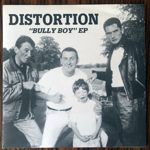 DISTORTION Bully Boy EP (Blue vinyl) (Helen of Oi! - UK original) (EX) 7""