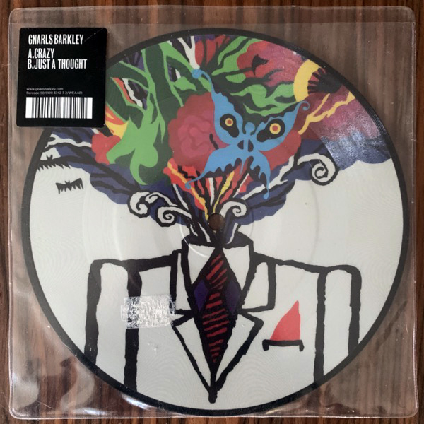 GNARLS BARKLEY Crazy (Warner - UK original) (VG+) PIC 7""