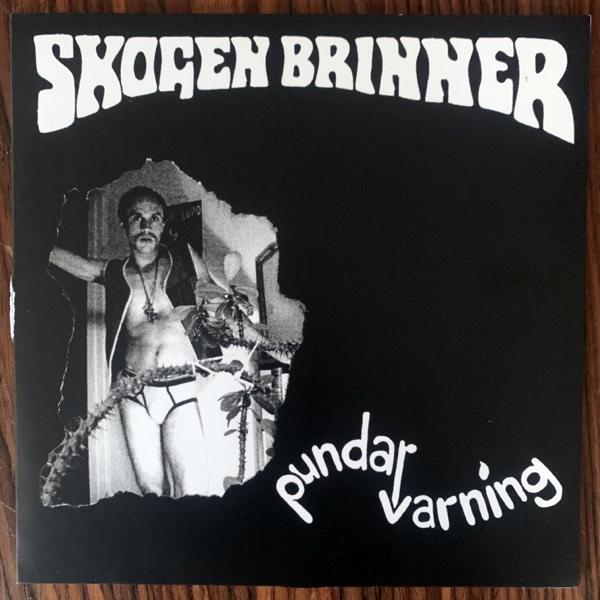 "SKOGEN BRINNER Pundarvarning (Gaphals - Sweden 2nd press) (VG+/EX) 7"""