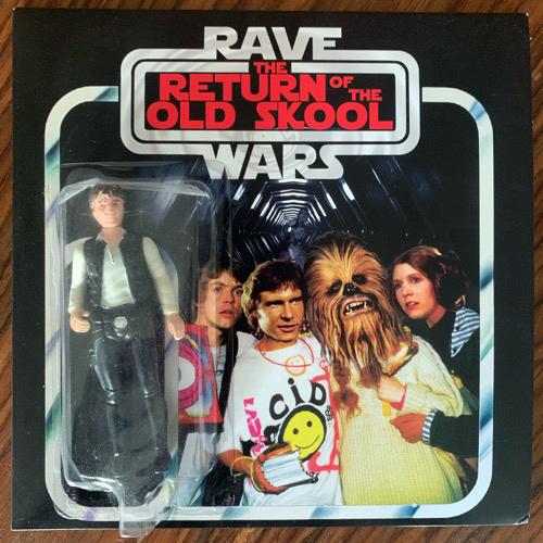 """VARIOUS Rave Wars III - The Return Of The Old Skool (Orange vinyl) (Rave Wars - UK original) (EX/NM) 7"""""""