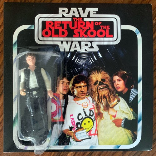 VARIOUS Rave Wars III - The Return Of The Old Skool (Orange vinyl) (Rave Wars - UK original) (EX/NM) 7""
