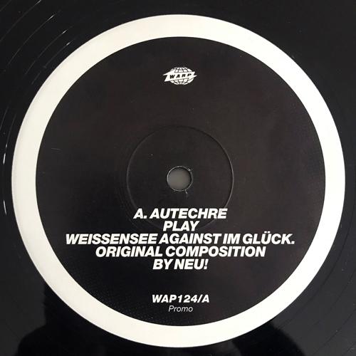 "AUTECHRE SplitRmx12 (Promo) (Warp - UK original) (EX/VG+) 12"""