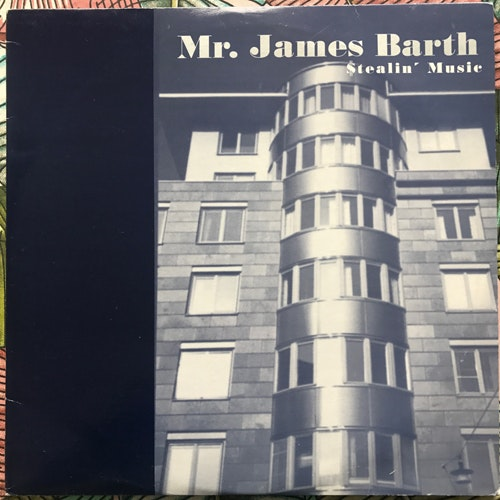 MR. JAMES BARTH Stealin' Music (Svek - Sweden original) (VG+) 2LP