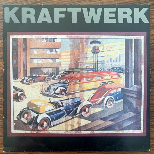 KRAFTWERK Central Passage (Dreamradio - Belgium original) (VG+/EX) 2LP