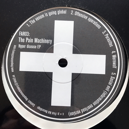 SEVERE ILLUSION/THE PAIN MACHINERY Split (First Aid - Sweden original) (SS) LP