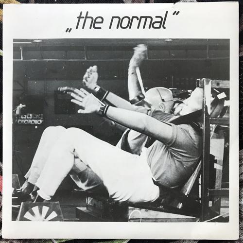 "NORMAL, the T.V.O.D./Warm Leatherette (Mute - UK original) (VG+) 7"""