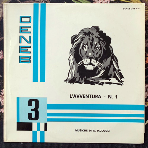 GERARDO IACOUCCI L'Avventura - N. 1 (Deneb - Italy original) (VG+) LP