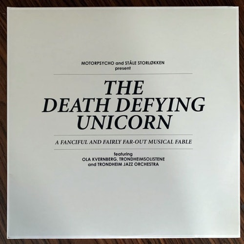 MOTORPSYCHO AND STÅLE STORLØKKEN Featuring OLA KVERNBERG, TRONDHEIMSOLISTENE AND TRONDHEIM JAZZ ORCHESTRA The Death Defying Unicorn (Stickman - Germany original) (EX/NM) 2LP