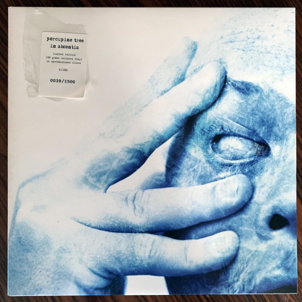 PORCUPINE TREE In Absentia (Cyan clear vinyl) (Tonefloat - Holland 2010 reissue) (NM) 2LP