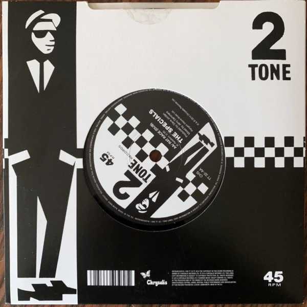 SPECIALS, the Sock It To 'Em J.B. (Dub) (Two-Tone - Europe original) (EX) 7""