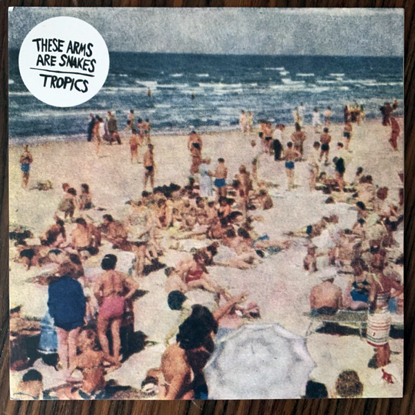 THESE ARMS ARE SNAKES / TROPICS Meet Your Mayor / Future Gets Tense (White vinyl) (We-Be - UK original) (EX) 7""