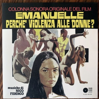 """SOUNDTRACK Nico Fidenco - Eternal Anguish / Come Back! Rhythm (Four Flies - Italy original) (NM/EX) 7"""""""