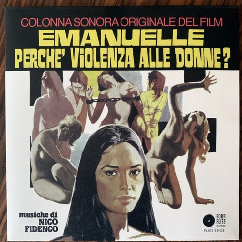 SOUNDTRACK Nico Fidenco - Eternal Anguish / Come Back! Rhythm (Four Flies - Italy original) (NM/EX) 7""
