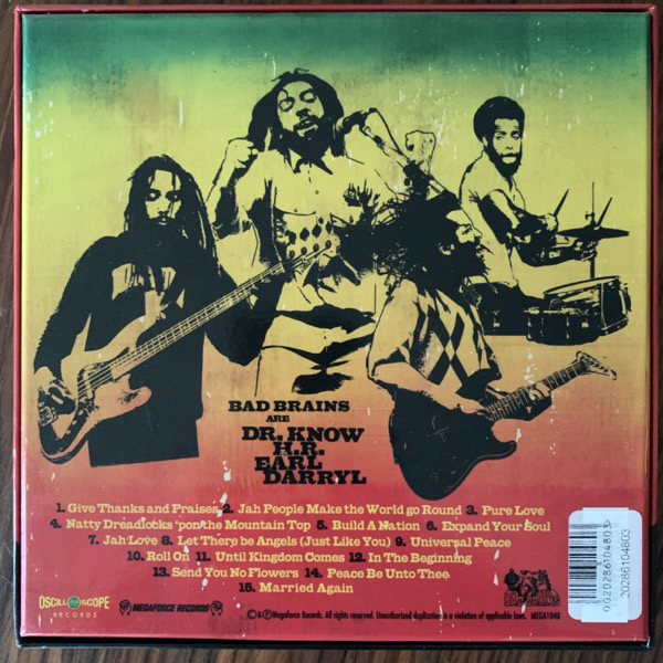 "BAD BRAINS Build A Nation (Oscilloscope - USA original) (EX/NM) 4x7"" BOX"