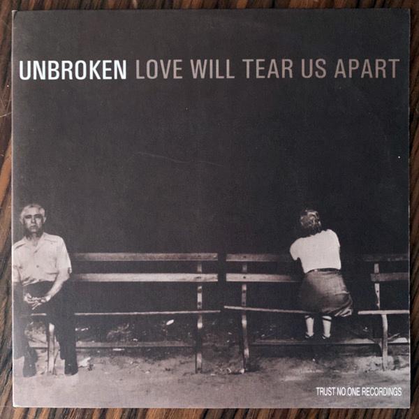 "UNBROKEN / ABHINANDA Split (Trust No One - Sweden original) (EX) 7"""