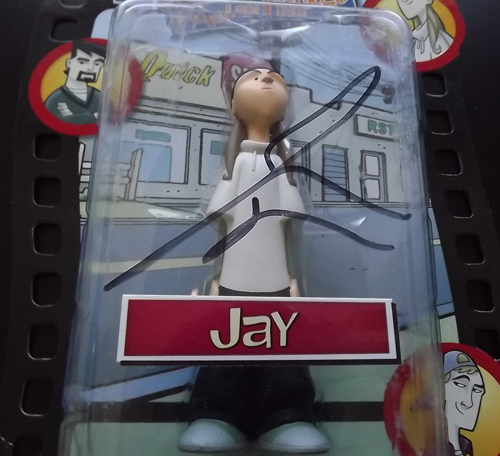 CLERKS INACTION FIGURES Clerks Series 1, Jay (Signed)