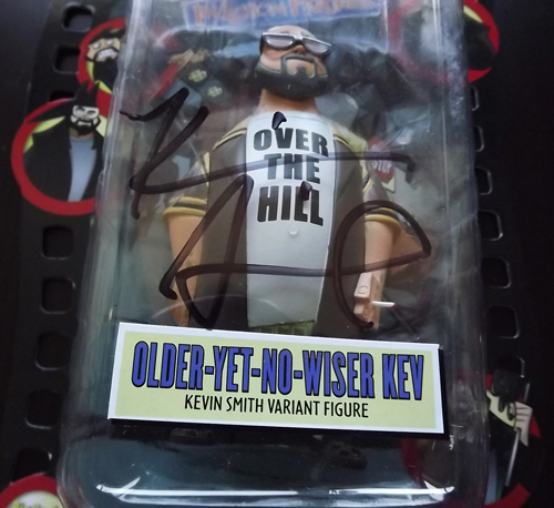 CLERKS INACTION FIGURES Kevin Smith (Variant. Exclusive) (Signed)