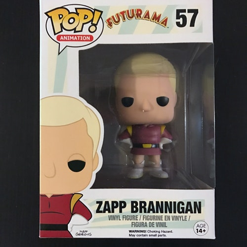 FUTURAMA Zapp Brannigan Vinyl Figure