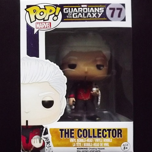 GUARDIANS OF THE GALAXY The Collector Vinyl Bobble-Head