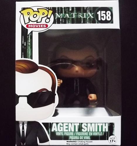 MATRIX, the Agent Smith Funko POP! Figure