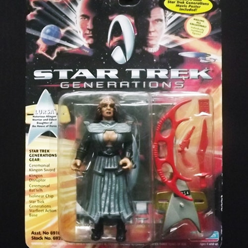 STAR TREK GENERATIONS Lursa Figure