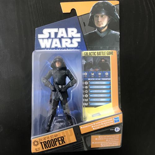 STAR WARS Saga Legends - Death Star Trooper Figure