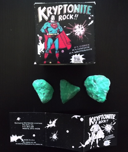 SUPERMAN Kryptonite Rock!!