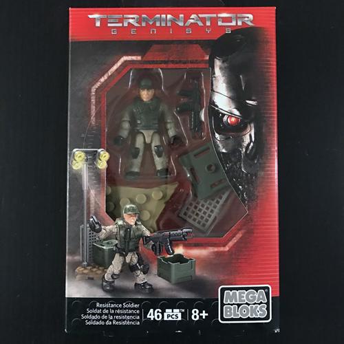 TERMINATOR GENISYS Resistance Soldier MEGA BLOKS