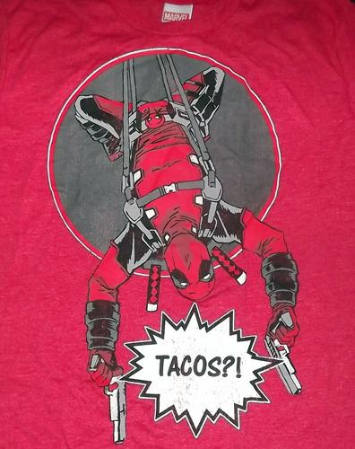 DEADPOOL Tacos (S) (NEW) T-SHIRT