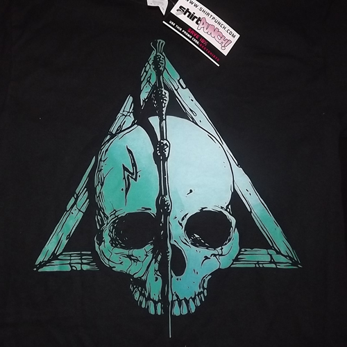 HARRY POTTER Deathly Hallows (S) (NEW) T-SHIRT