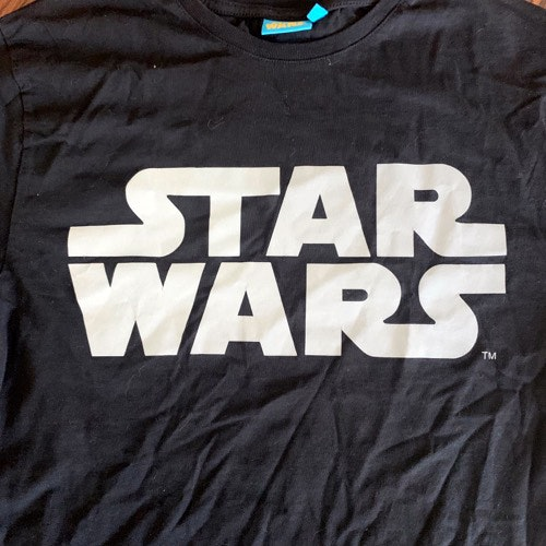 STAR WARS Logo (XS) (USED) T-SHIRT