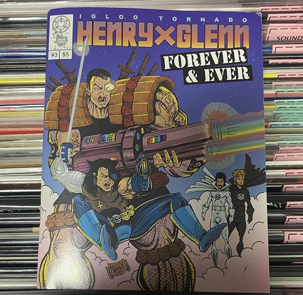 HENRY & GLENN Forever & Ever #3 (Tom Neely cover) (EX) COMIC