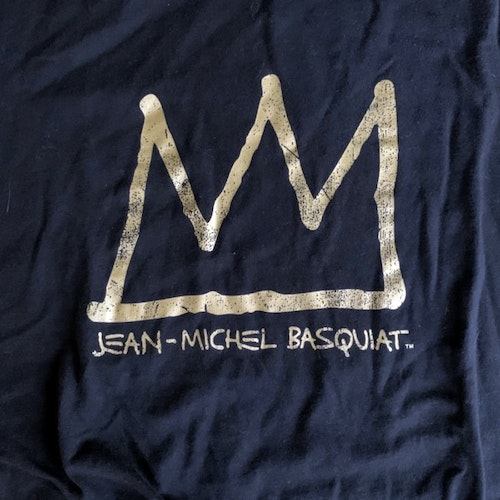 JEAN-MICHEL BASQUIAT Logo (M) (NEW) T-SHIRT