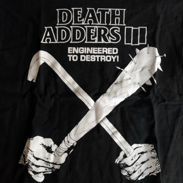 MISHKA Death Adders (S) (USED) T-SHIRT