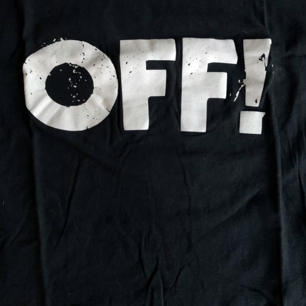 OFF! Off! (S) (USED) T-SHIRT