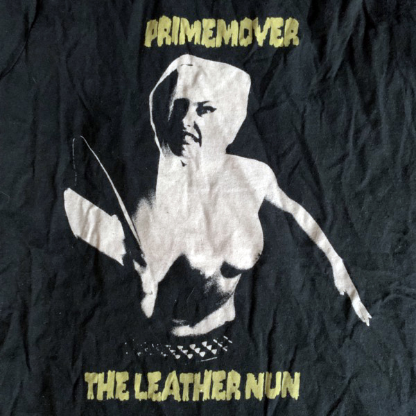 LEATHER NUN, the Primemover (S) (USED) T-SHIRT