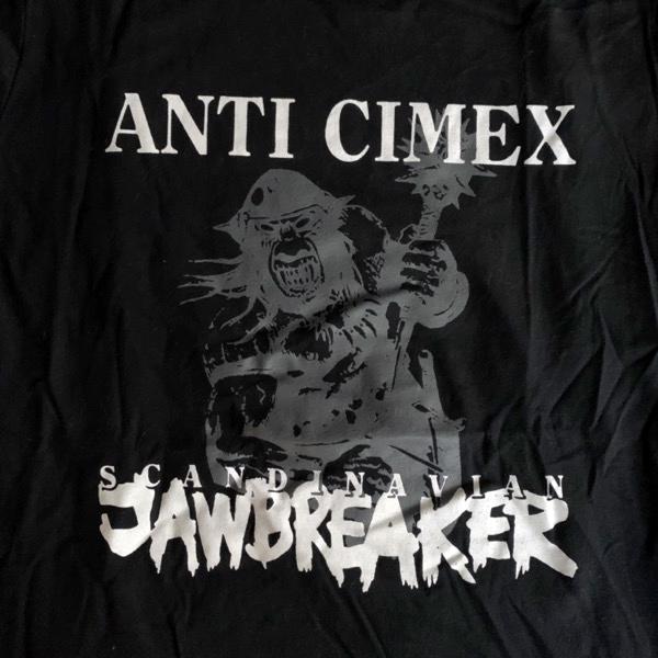 ANTI CIMEX Scandinavian Jawbreaker (S) (USED) T-SHIRT