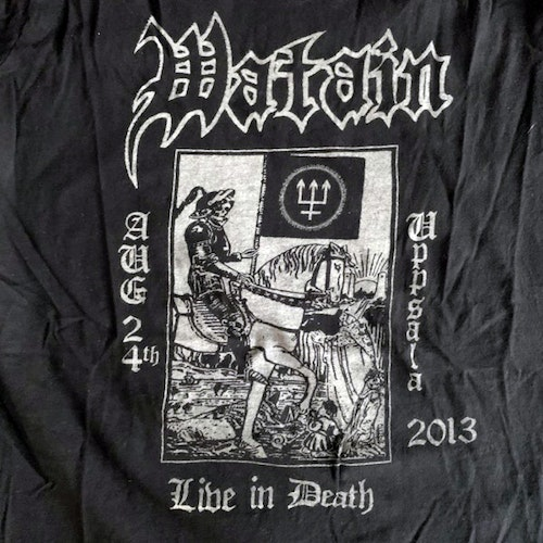 WATAIN Uppsala 2013 (S) (USED) T-SHIRT