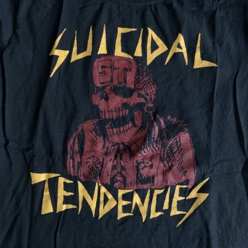 SUICIDAL TENDENCIES ST (S) (USED) T-SHIRT