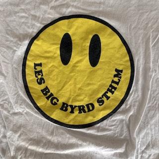 LES BIG BYRD Smile (M) (USED) T-SHIRT