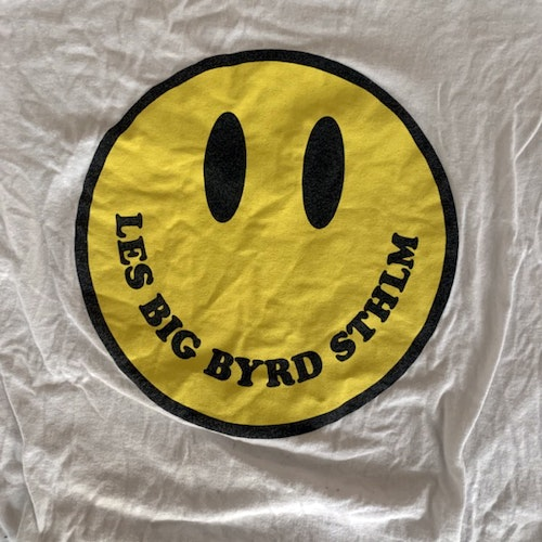 LES BIG BYRD Smile (M) (USED) T-SHIRT