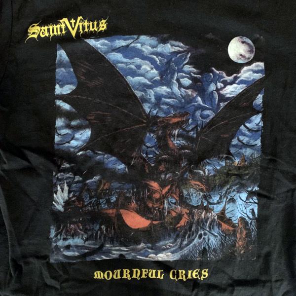 SAINT VITUS Mournful Cries (S) (USED) T-SHIRT