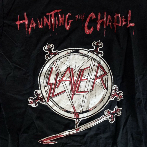 SLAYER Haunting the Chapel (S) (USED) T-SHIRT