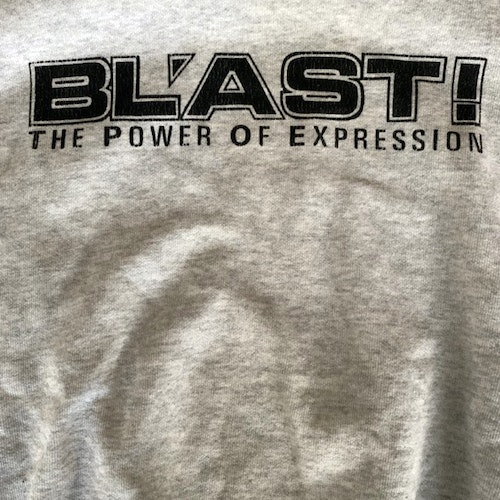 BL'AST The Power of Expression (S) (USED) SWEATSHIRT