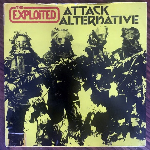 EXPLOITED, the Attack / Alternative (Secret - UK original) (VG) 7""